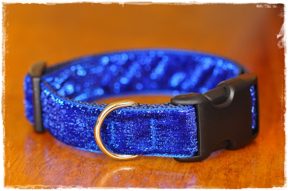 Metallic Bling Collars for dogs Sm, Med, Large
