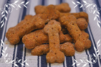 Coco's eco-friendly carrot & oat dog treats