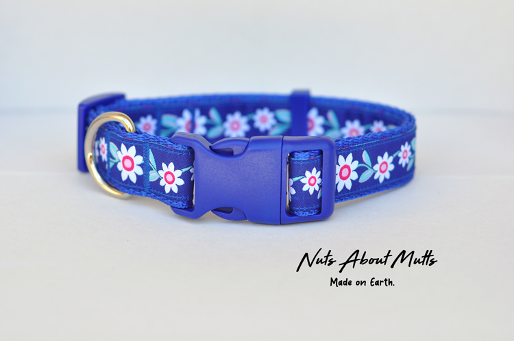 Daisy Chain dog collar Med, Lge, X-Large