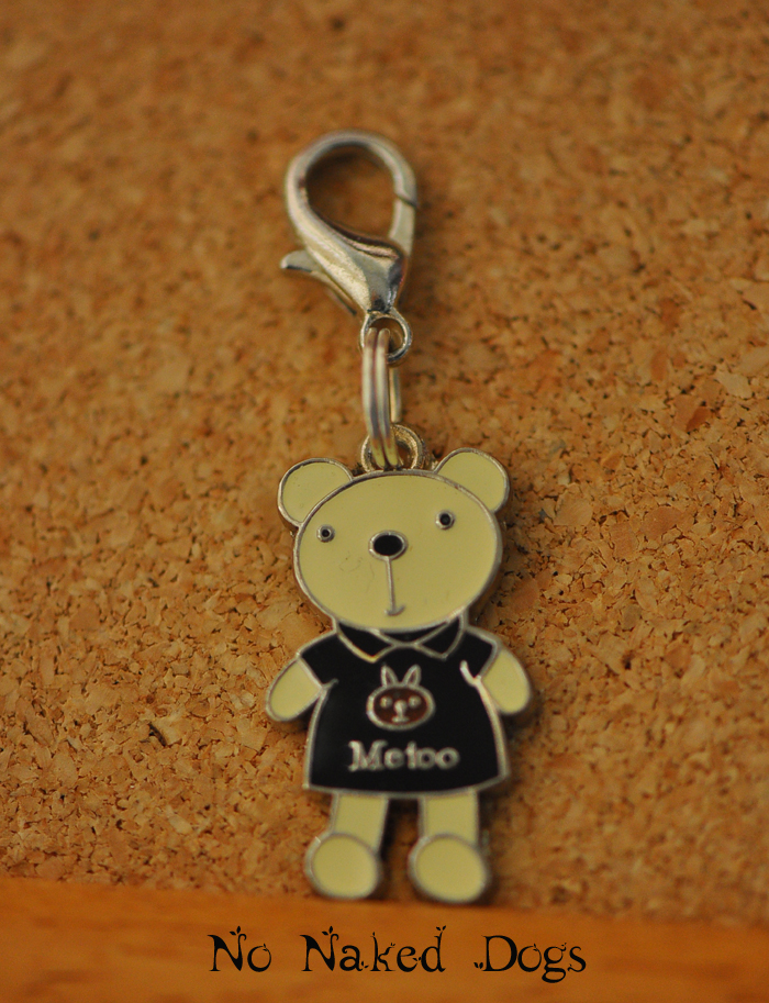 Metoo metal bear charm