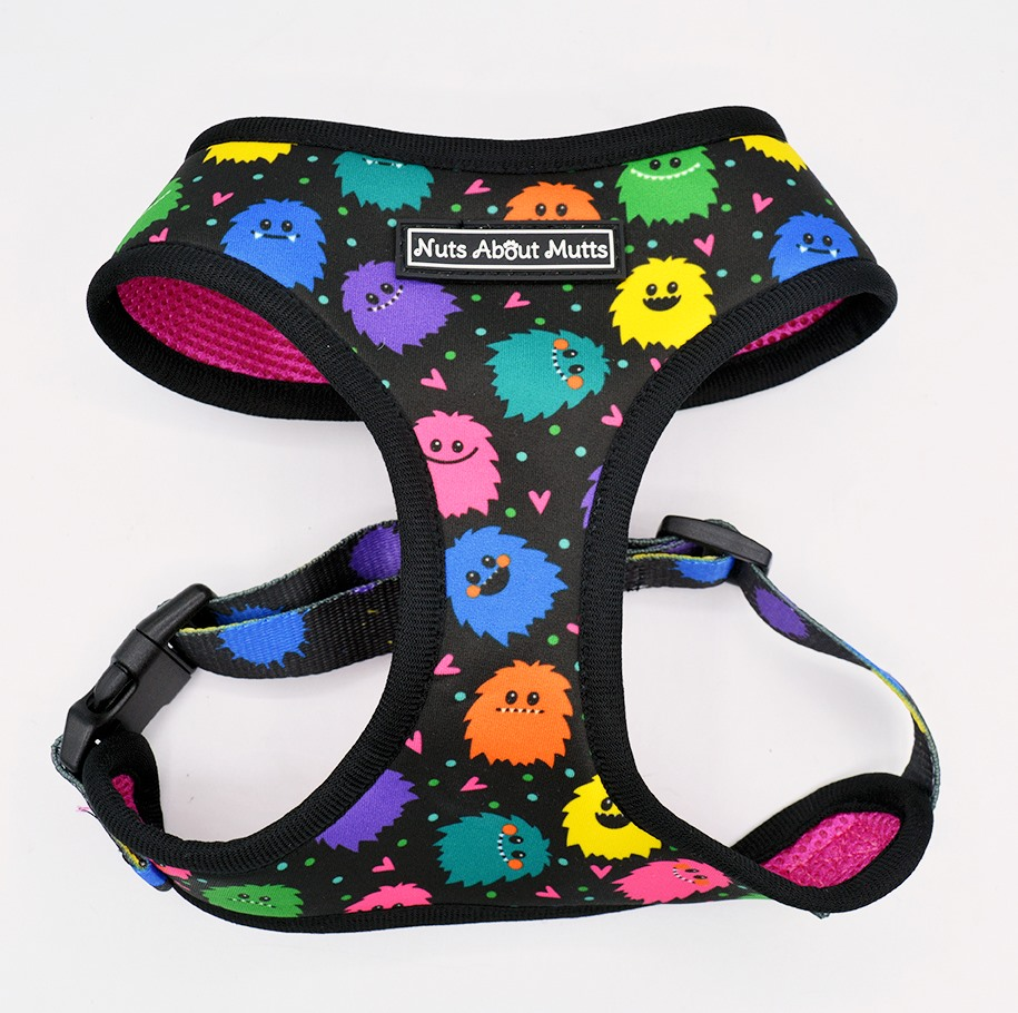 Monsters dog harness 3 sizes