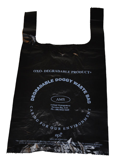 BEST SELLER!! Dog waste bags with handles 300 on a roll