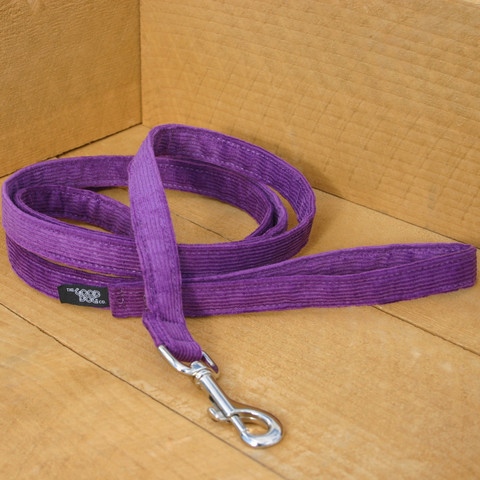 Hemp Corduroy/organic cotton lead Plum