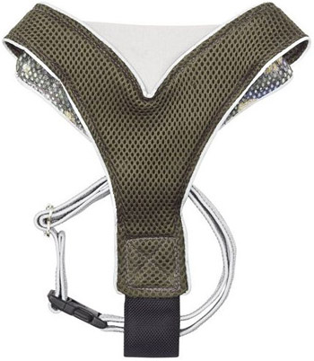 V Mesh Harness Green Camo eco friendly